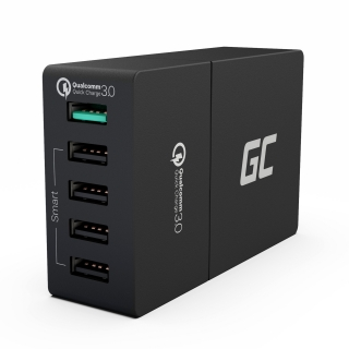 Nabíječka Green Cell 5x USB Quick Charge 3.0